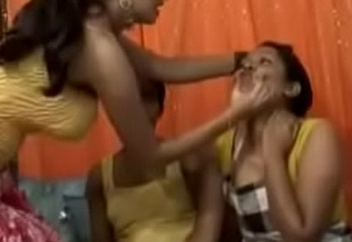 Unartificial Indian Girls In Threesome Groupsex Porn